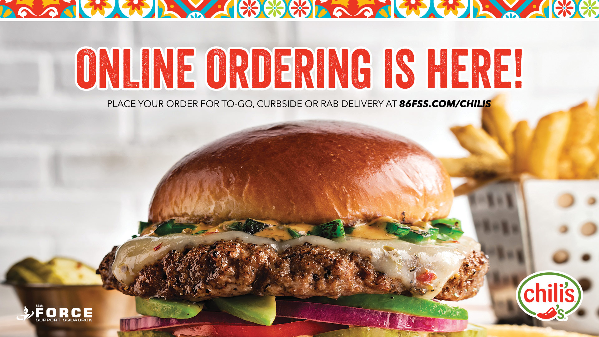 TV-OnlineOrdering-Chilis-Maintenance